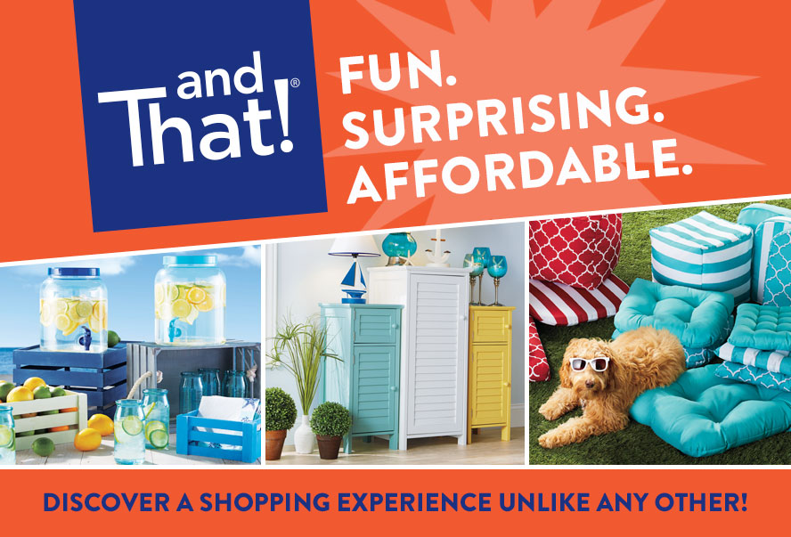 andThat! Fun. Surprising. Affordable. Discover A Shopping Experience Unlike Any Other!