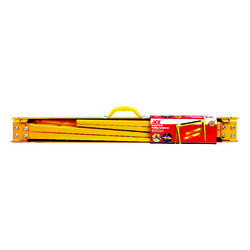 Ace  38 in. H x 2-2/5 in. W Adjustable Heavy Duty Sawhorse  1200 lb. capacity Yellow  1 pk