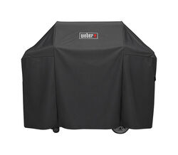 Weber  Black  Grill Cover  For Genesis II and Genesis II LX 300 series gas grills 58 in. W x 44.5 in
