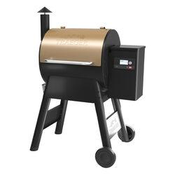 Traeger  Pro 575  Wood Pellet  Grill  Bronze