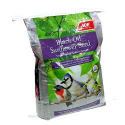 Ace  Black Oil Sunflower  Songbird  Black Oil Sunflower Wild Bird Food  Black Oil Sunflower Seed  40