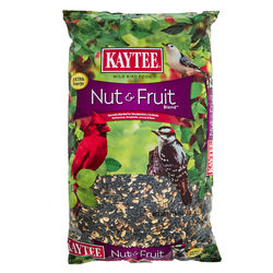 Kaytee  Nut & Fruit  Songbird  Wild Bird Food  Black Oil Sunflower  10 lb.