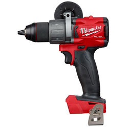 Milwaukee  M18 FUEL  18 volt 1/2 in. Brushless  Cordless Hammer Drill  Tool Only