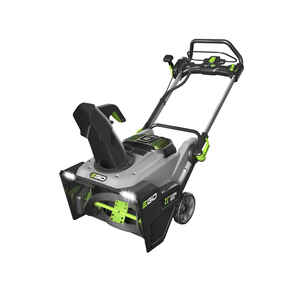 EGO  Power+  21 in. W Single-Stage  Push-Button Start  Battery  Snow Thrower