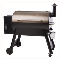 Traeger  Pro Series 34  Wood Pellet  Grill  Bronze