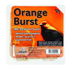 Heath  Orange Burst  Songbird  Suet  Beef Suet  11.25 oz.