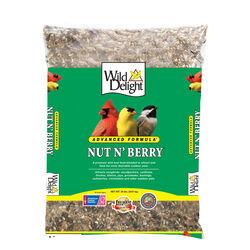 Wild Delight  Nut N Berry  Assorted Species  Wild Bird Food  Sunflower Kernels  20 lb.