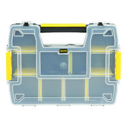 Stanley  SortMaster  11.5 in. L x 8.5 in. W x 2.9 in. H Storage Organizer  Plastic  8 compartments