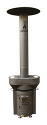 QSTOVES  Q-Flame  106000 BTU 314 sq. ft. Wood Pellet Stove