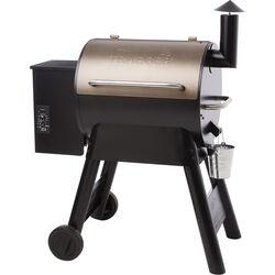 Traeger  Pro Series 22  Wood Pellet  Grill  Bronze