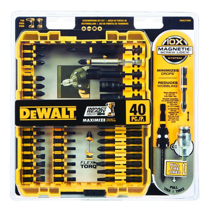 Dewalt Impact Ready Multi Size In X 3 8 In L Screwdriver