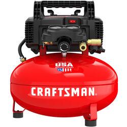 Craftsman  6 gal. Pancake  Portable Air Compressor  150 psi 0.8 hp