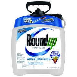 Roundup  Weed and Grass Killer  RTU Liquid  1.33 gal.