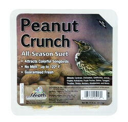 Heath  Peanut Crunch  Songbird  Suet  Beef Suet  11 oz.
