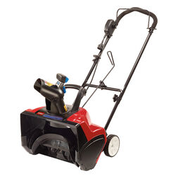 Toro  18 in. Single Stage Electric Start  Electric  Snow Blower