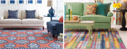 Hand-hooked rugs
