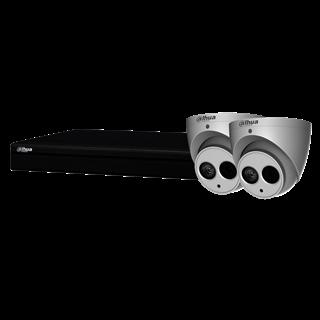 Dahua Bundle Kit 1 Dahua 6MP Turret, 4CH NVR