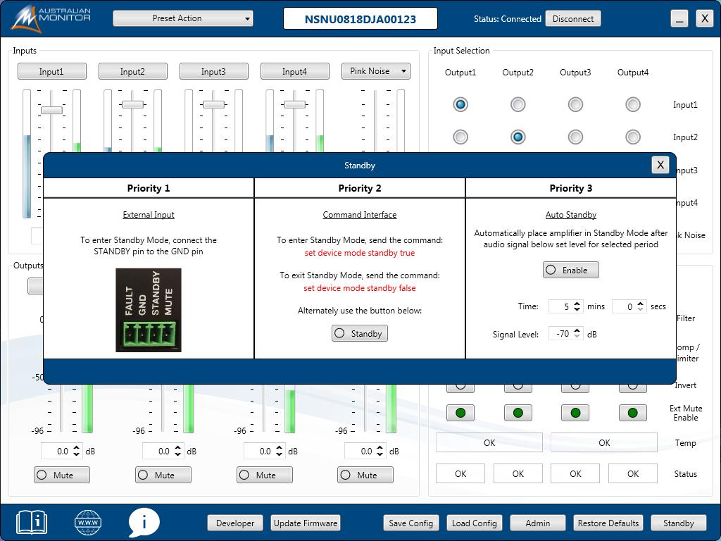 HSP-Software-Standby