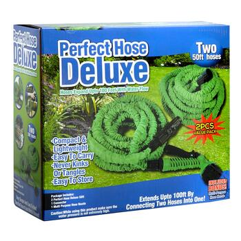 50' Flexible Hose with Sprayer, 2-Pack view 2