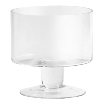 Mini Glass Trifle Serving Bowl
