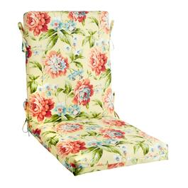 Garden Party Indoor/Outdoor Hinged Chair Pad