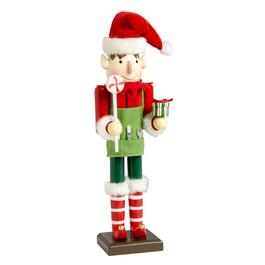 "15"" Handyman Elf Nutcracker with Treats"