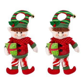 Bouncy Elf Hangers, Set of 2
