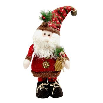 Medium Standing Santa Decor
