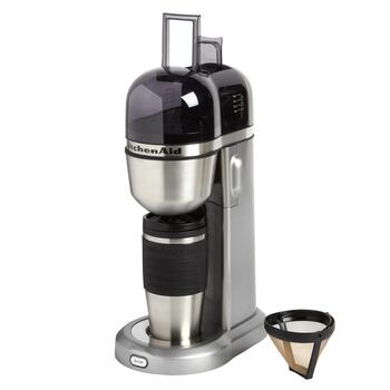 KitchenAid® Personal Coffee Maker and 18-oz. Thermal Mug Set