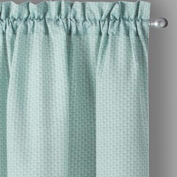 "84"" Fairfield Woven Window Curtains, Set of 2"