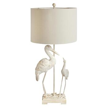 "35"" Crane Table Lamp"