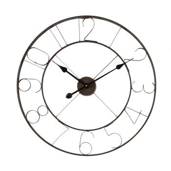 "24"" Metal Wire Round Wall Clock"