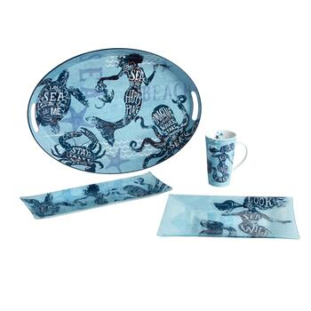 Mermaid Serveware Collection