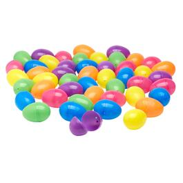 192-Count Bright Plastic Easter Eggs