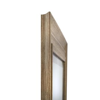 "21""x25"" Charles Driftwood Frame Wall Mirror view 2"