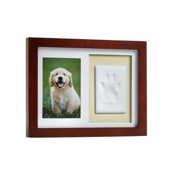 "8.25"" x 10.75"" Paw Print Clay Mold Pet Frame"