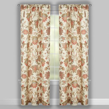 Florabotanica Paisley Window Curtains, Set of 2 view 2