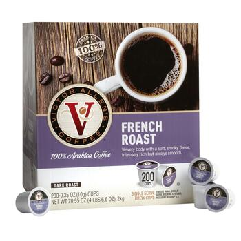 Victor Allen's® French Roast Coffee Pods, 200-Count view 1