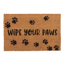 """Wipe Your Paws"" Coir Door Mat view 1"