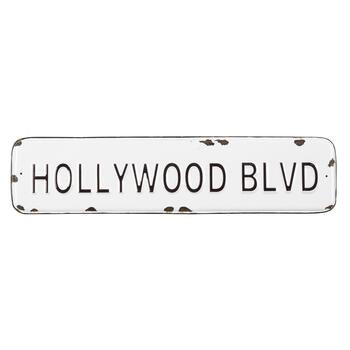 Sgn Hollywood Blvd 22x5