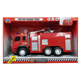 Friction Powered Fire Truck view 1