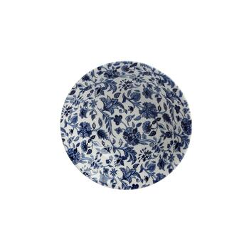 "6"" Blue/White Floral Ceramic Cereal Bowls, Set of 4 view 2"