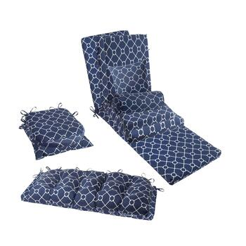 Nautical Knots Indoor/Outdoor Seat Cushions Collection
