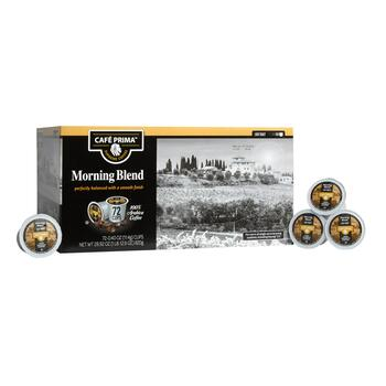 Café Prima™ Morning Blend Coffee Pods, 72-Count