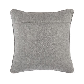 """Don't Wake the Bear"" Wool Blend Square Throw Pillow view 2"