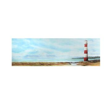 "12""x36"" Lighthouse View Canvas Wall Art"