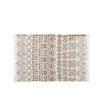 Coastal Living Seascapes™ Beige Tribal Block Chindi Area Rug