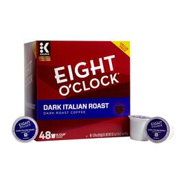 Keurig® Eight O'Clock® Dark Italian Coffee Pods, 48-Count