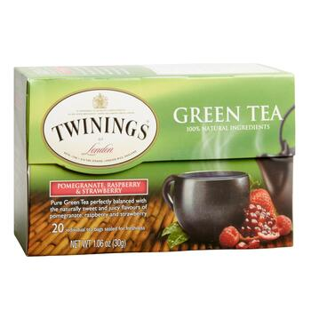 Twinings® Pomegranate, Raspberry & Strawberry Tea, 6 Boxes