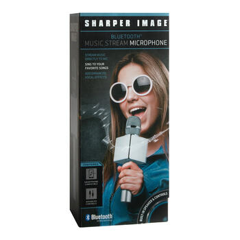 Sharper Image® Bluetooth® Music Stream Microphone view 1